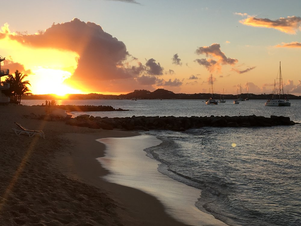 Sunset in St. Martin - 55 by 55 Travel