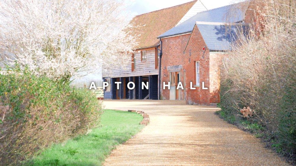 Apton Hall Wedding Venue