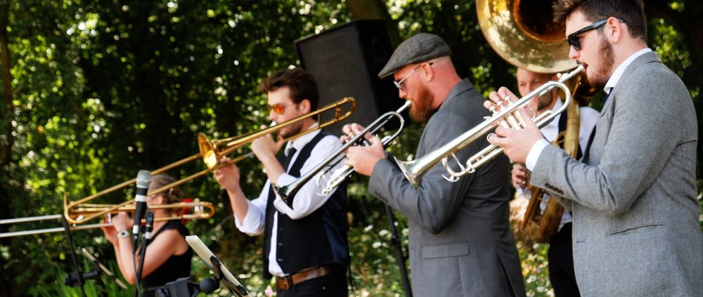 Wedding Music Brass Band Essex