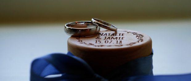 Wedding Rings Wooden Box