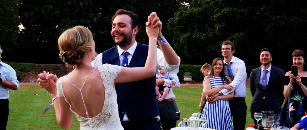 Leez Priory First Dance
