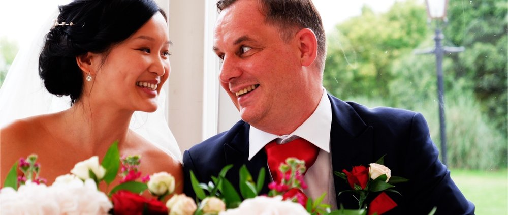 Just Married at Boreham House