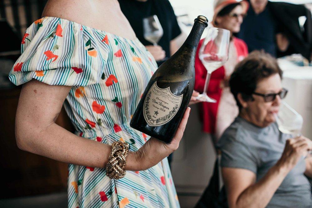dom perignon wine tasting