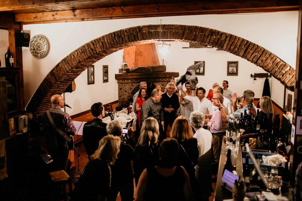 sicilian dance party, private tour