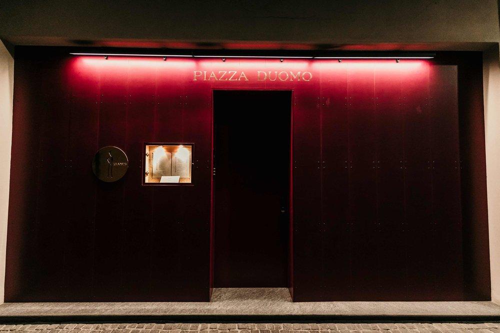 michelin star restaurant piazza duomo