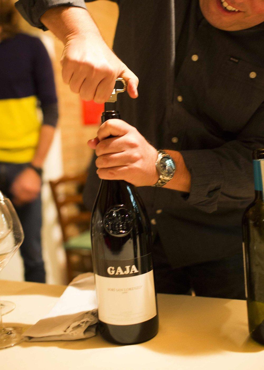 gaja barbaresco wine tasting