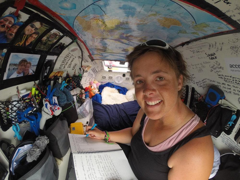 Atlantic 2015_Sarah in cabin_smiling.JPG