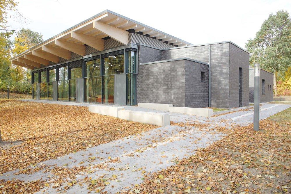 Neubau | Mensa und Forum, Bad Sassendorf