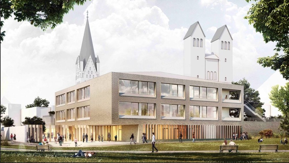 Entwurf + Visualisierung von Hausmann Architekten