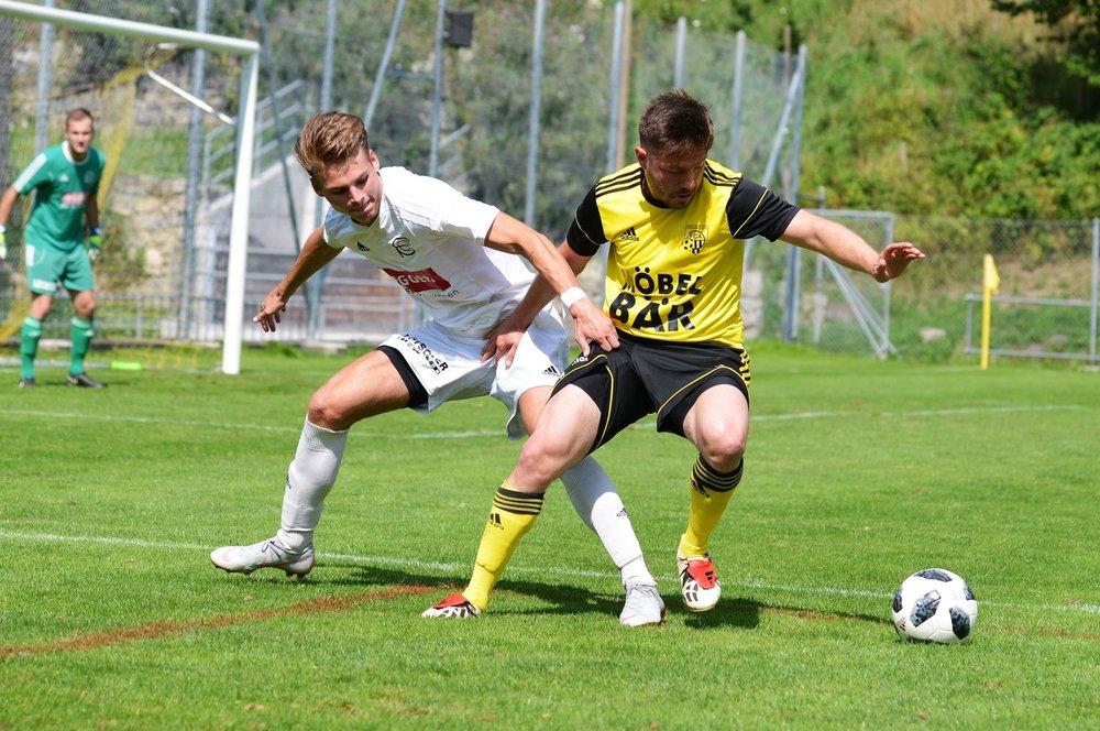Kartal Cil im Hinspiel gegen Eschenbach.  Foto: Regiofussball.ch