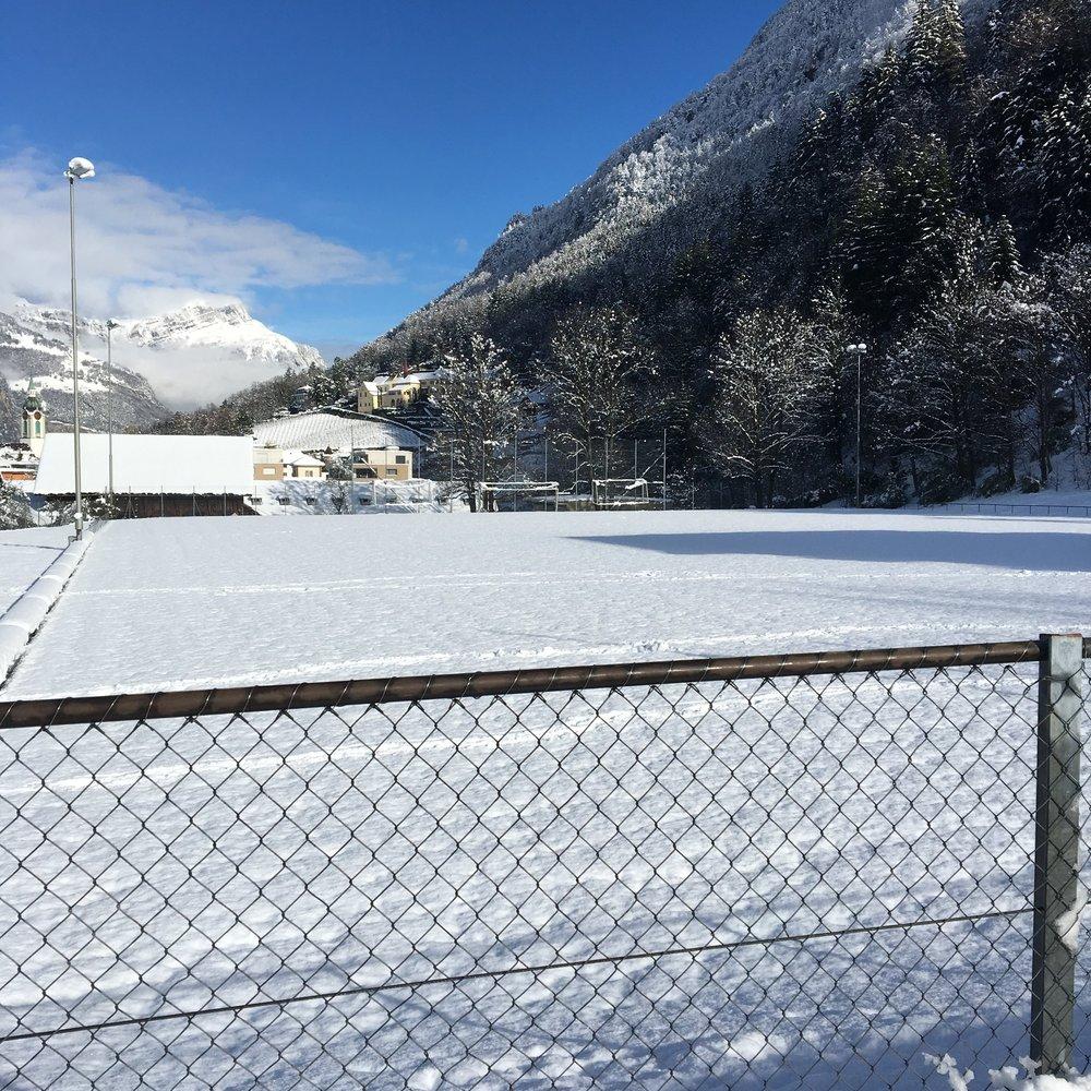 Die Suworowmatte am heutigen Freitagmittag.  Foto: FC Altdorf