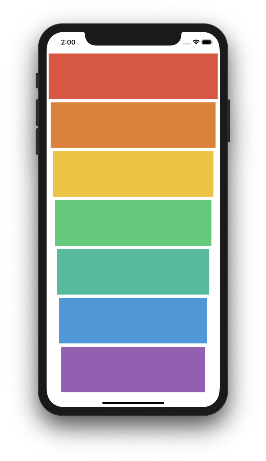 Xylophone - A single page application that plays tunes upon pressing a color.