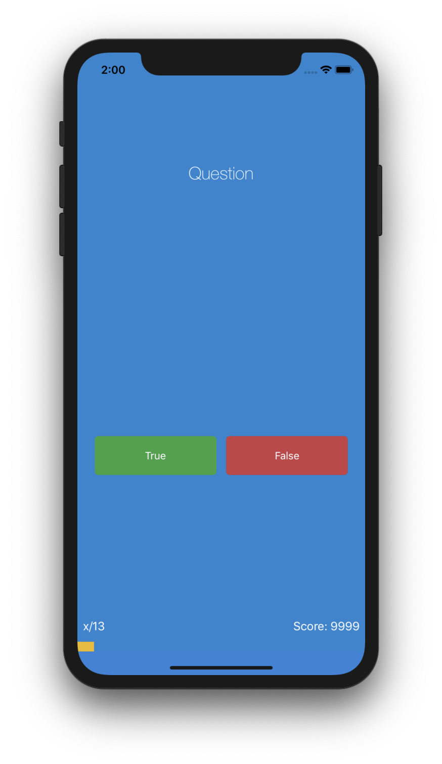 Quizer - A single page application that asks you questions, counts your score and shows you your progress in the progress bar