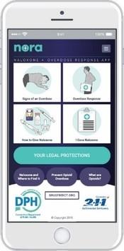 Naloxone & Overdose Response App (NORA)