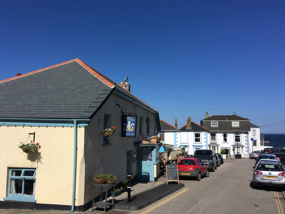 The Plume of Feathers pub Portscatho
