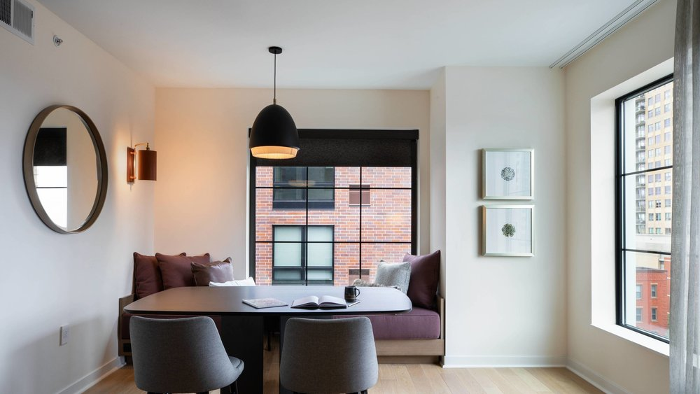Roller Shades - Roller shades in a variety of weaves and weave openness styles, to let in just the right amount of light.