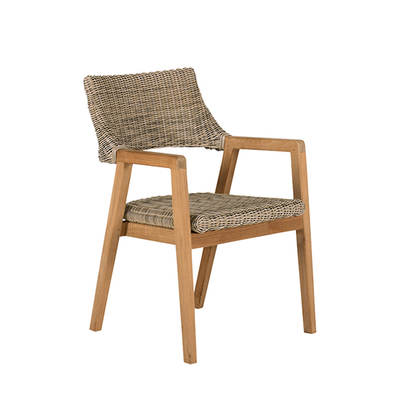 Kingsley Bate   Spencer Dining Chair Teak Finish - Natural
