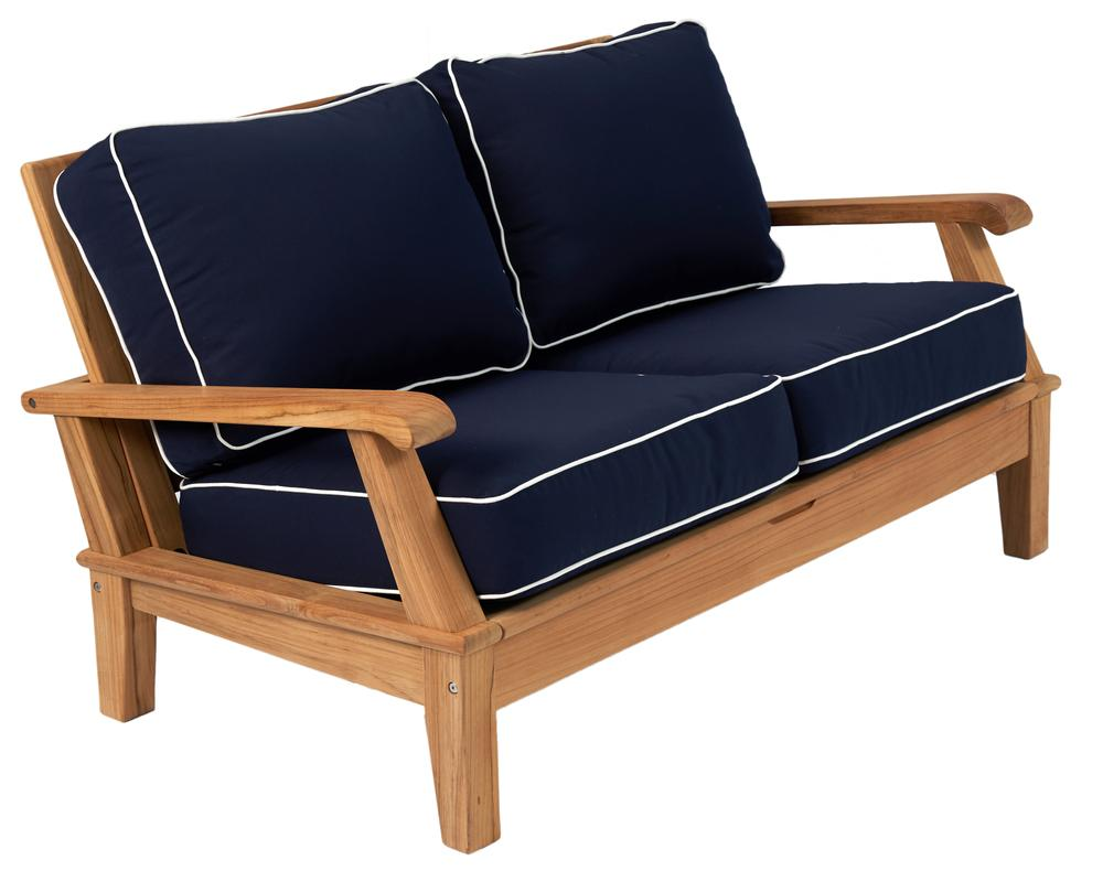 Royal Teak Collection |  Miami Reclining Loveseat
