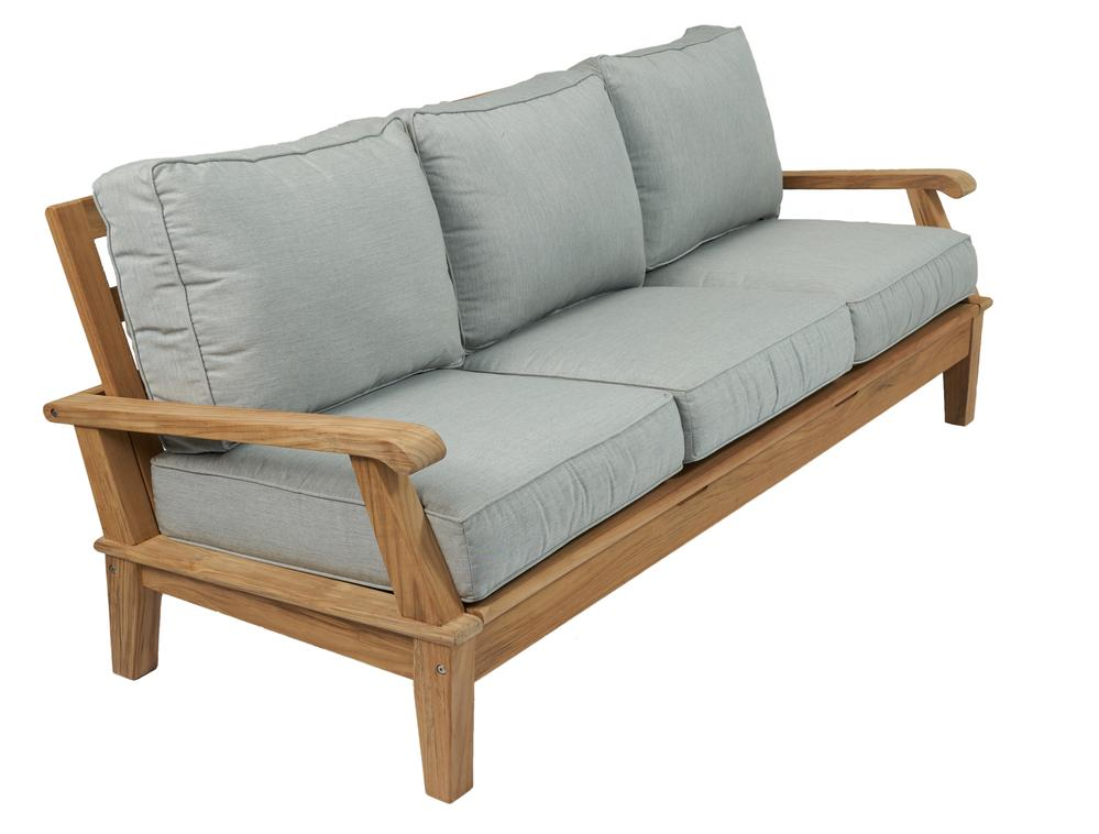 Royal Teak Collection |  Miami Reclining Sofa