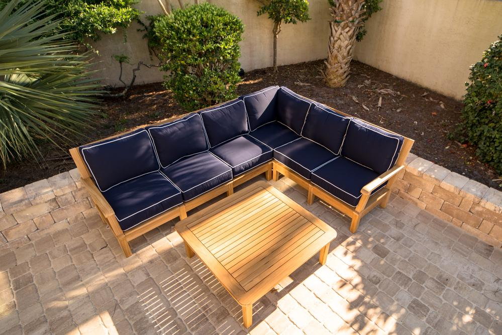 Royal Teak Collection |  Miami Modular Sectional
