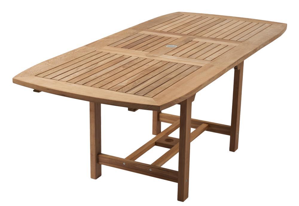 "ROYAL TEAK - Family Expansion Table Rectangle -  Available in 3 sizes   60""/78""L x 35""W x 29.5""H  Seats 4-8   72""/96""L x 39""W x 29.5""H  Seats 6-8   96""/118""L x 42""W x 29.5""H  Seats 8-12"