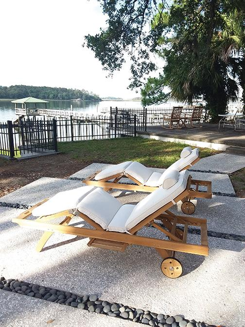 Royal Teak Collection  | Sunbed Adjustable Chaise Lounge