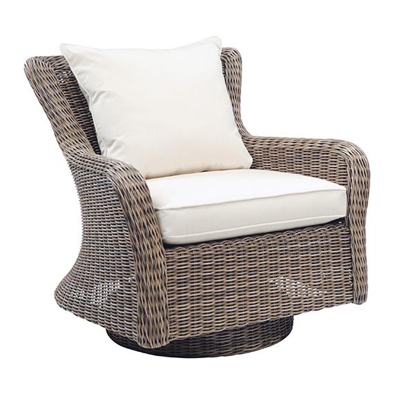 Kingsley Bate |  Sag Harbor Swivel Club Chair