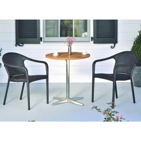 KINGSLEY BATE  STACKING CAFE CHAIR