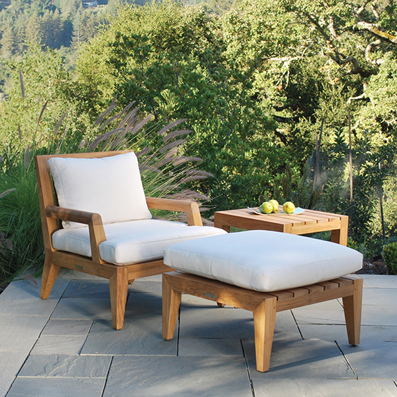 KINGSLEY BATE   |  Mendocino Deep Seating Club Chair