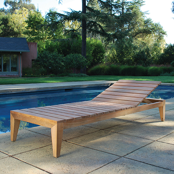 Kingsley Bate |  Mendocino Chaise Lounge