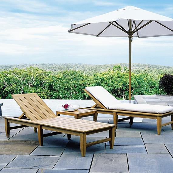 Kingsley Bate |  Amalfi Chaise Lounge
