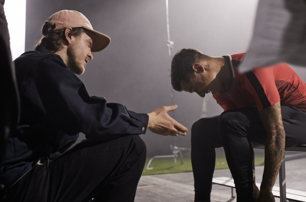 Behind the scenes of Nike Phantom shoot with Philippe Coutinho. Shot by Lucas Garrido.