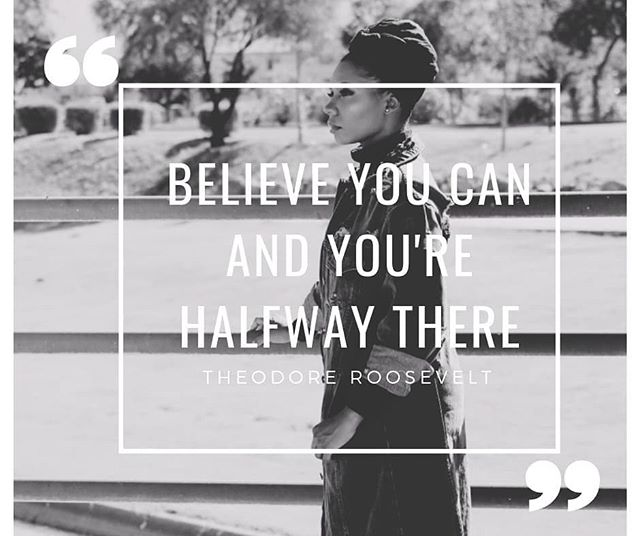 """""""Believe you can and you're halfway there"""" . . . Sometimes we are the only thing standing between us and our dreams. Self doubt has probably killed more dreams than actual closed doors. Check yourself every time you think you can't do something or that it's not the right time. You don't think you're prepared, do it anyway and learn. You don't know if its the right time, do it anyway and let the universe tell you otherwise.  You don't think you're qualified, do it anyway and let His favor cover you as you work to qualify yourself. #officialqueende #hiphop #femaleengineer #femalerappers #musicstudent #rap #muslimhiphop #muslimah #modestfashion #mgt #mgtvanguard"""
