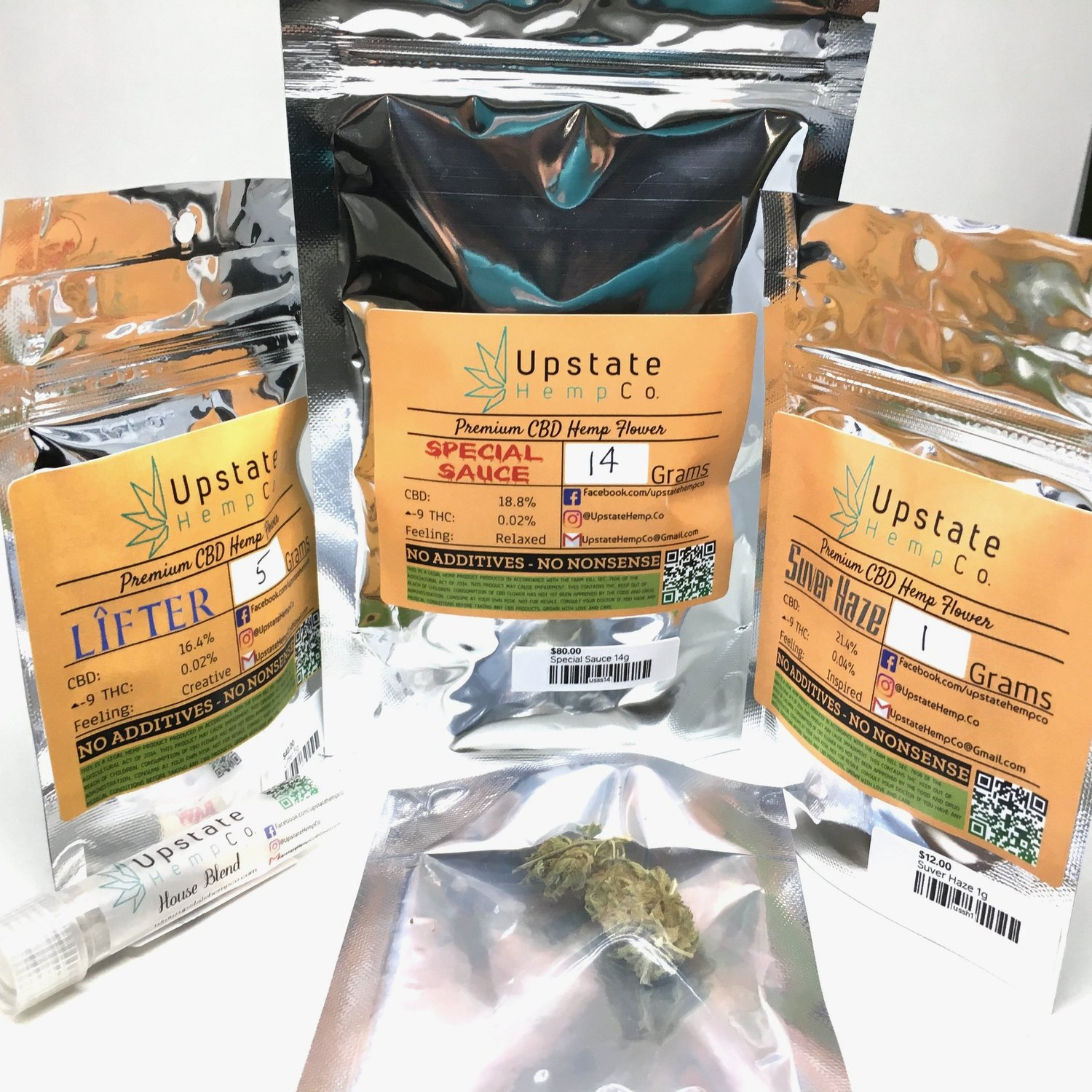 CBD Flower (Rochester) — Hemp It Up!