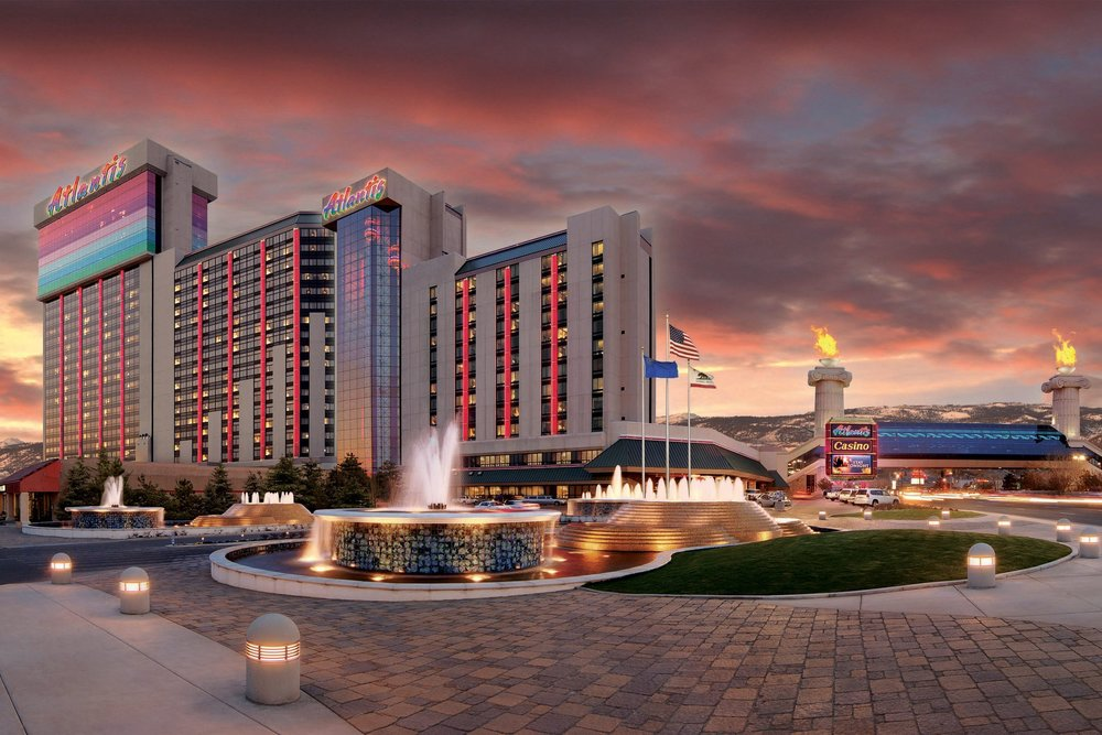 ATLANTIS CASINO RESORT - Reno, NVTwenty-seven story reinforced concrete building with post-tensioned slabs and moment frames for 421 rooms. Approximately 85,000 square feet of structural steel low-rise for hotel operations, conventions and casino.Architect: WALDEMAR EKLOF ARCHITECT