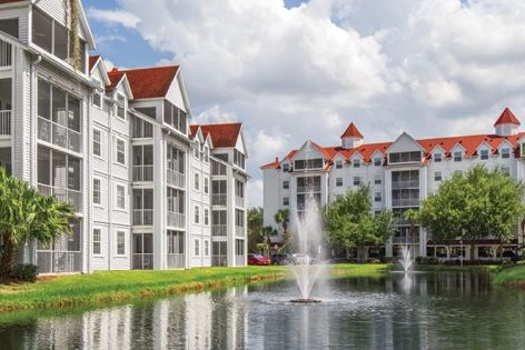EMBASSY VACATION RESORT AT GRAND BEACH - Orange County , FLFive story metal stud bearing wall building with Epicore floor systems supported on a post-tensioned concrete slab over one level of parking. Four phases totaling approximately 284,000 square feet.Architect: MORRIS ARCHITECTS ORLANDO