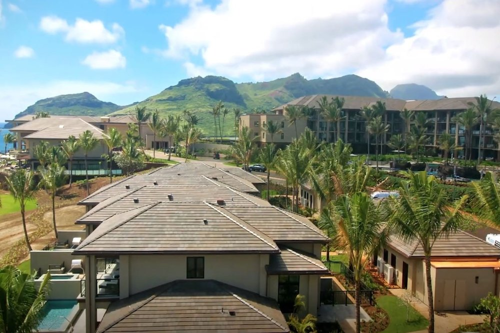 KAUAI LAGOONS timbers - Lihue, Kauai, HITwo multiple story cast-in-place concrete structures with post-tensioned slabs for a total of 34 luxury units, a restaurant, a fitness center, and a basement parking garage. The total project area is over 235,000 square feet. In addition, two story timber and metal stud framing luxury residences with adjacent parking and golf cart garages.Contractor: LAYTON CONSTRUCTIONArchitect: POSS ARCHITECTURE