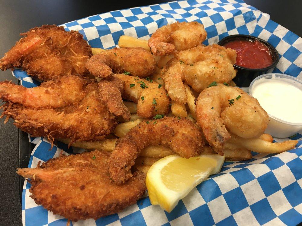 Pick 3 Combo Plate - Coconut Shrimp, Crispy Shrimp & Beer Battered Shrimp with Fries