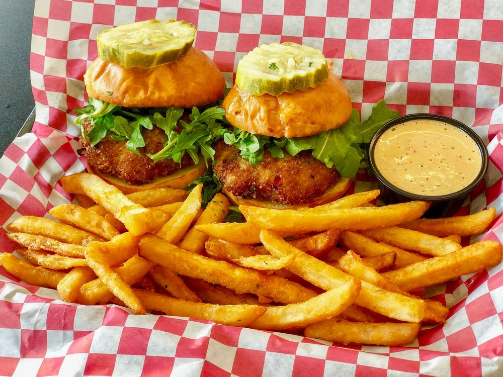 WEDNESDAY: Crab Cake Sliders with Fries