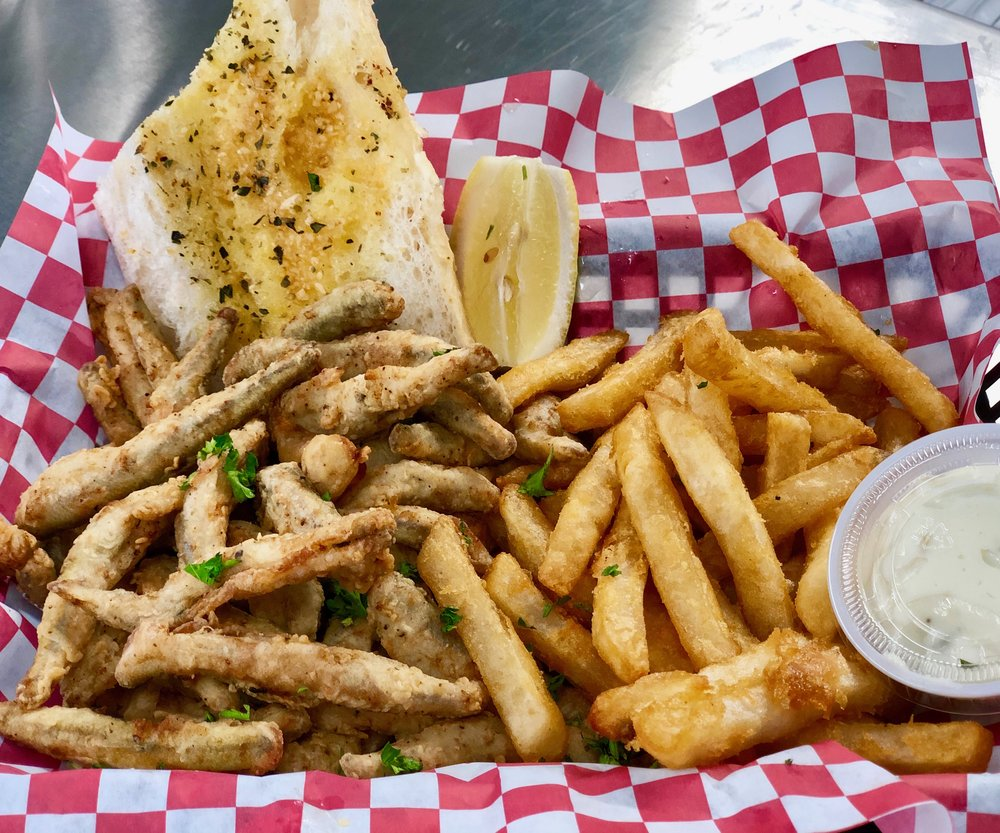Smelt Fry with Fries