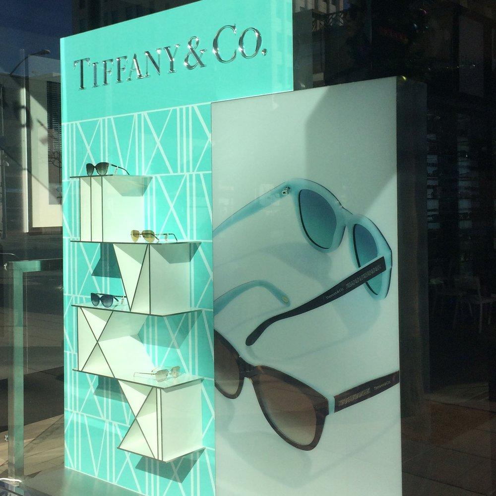Tiffany & Company Eyewear  - Window Display