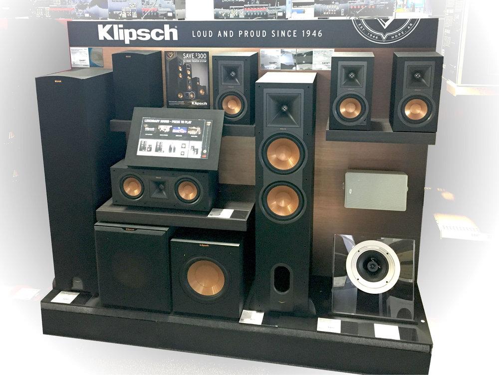 Klipsch  - Interactive Home Theater Demo (Endcap/Inline) -  Best Buy Rollout