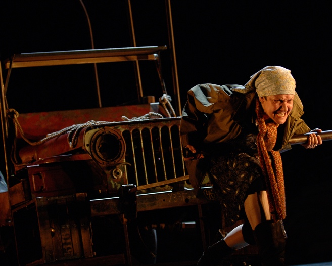 MOTHER COURAGE - BERKELEY REP