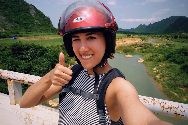 Motorbiking through Phong Nha-Kẻ Bàng National Park, Vietnam, 2016.