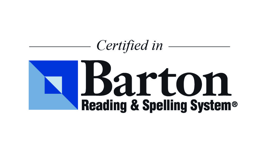 The Barton System - The system in which I am certified, proven to help students struggling with reading and spelling.