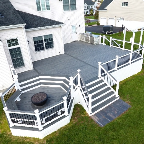 NEW DECK INSTALLATION -