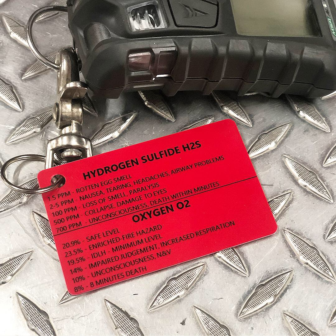 Gas Meter Tag — First Due Fabrication
