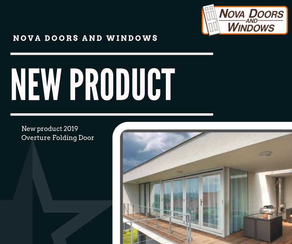 Introducing the new Overture Folding Door. - The Overture folding door offers a unique, innovative and high performance alternative door solution. The slim design lets you enjoy maximum viewing area and the multi-panel designs will fit any décor and space.Multiple Configurations. Opening from the centre or from the sides. Maximum opening on the outside to appreciate fresh air and natural light.
