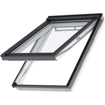 ROOF WINDOW - Put fresh air at your fingertips with a top hinged roof window. A top hinged roof window is easy to operate even with furniture beneath. The ventilation flap allows you to enjoy fresh air without completely opening the window.We recommend top hinged windows for in-reach applications to take full advantage of the opening and cleaning features.We also have a center pivot window, we recommend this for in-reach applications to take full advantage of the opening and cleaning features.If you're looking for roof access, then the Roof access window may be for you! Pull the unique top control bar once and you will allow fresh, filtered air to enter through the ventilation flap. All VELUX roof windows make it easier to gain access to the outdoors