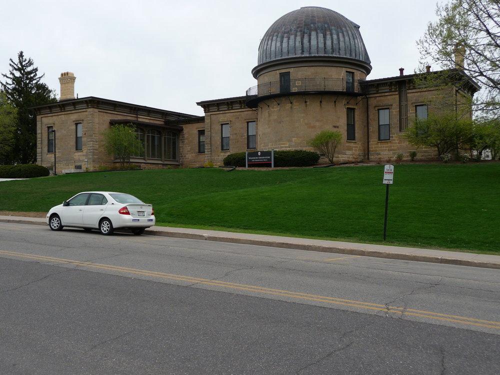 Washburn Observatory, 1401 Observatory Dr.